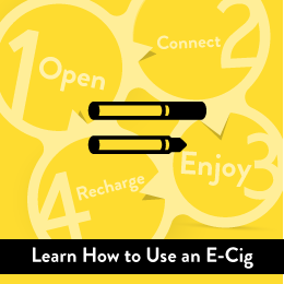 Learn How to Use an E-Cigarette