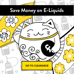 Save Money on Your E-Liquids with our Clearance Category