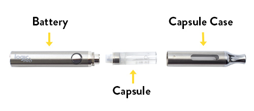 How The Logic Pro E-Cigarette Works