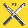 Vaping vs. Smoking Infographic