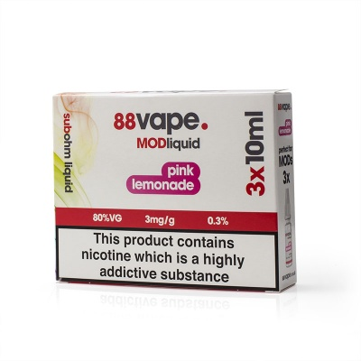 88Vape Mod Liquid Pink Lemonade E-Liquid