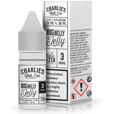 Charlie's Chalk Dust Big Belly Jelly E-Liquid - Money Off!