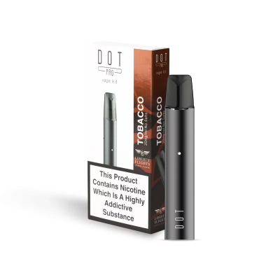 DOT PRO Vape Kit with Liberty Flights XO Tobacco E-Liquid