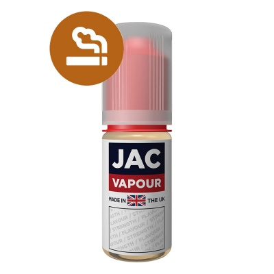 JAC Vapour Real Tobacco Silver UK Made PG E-Liquid