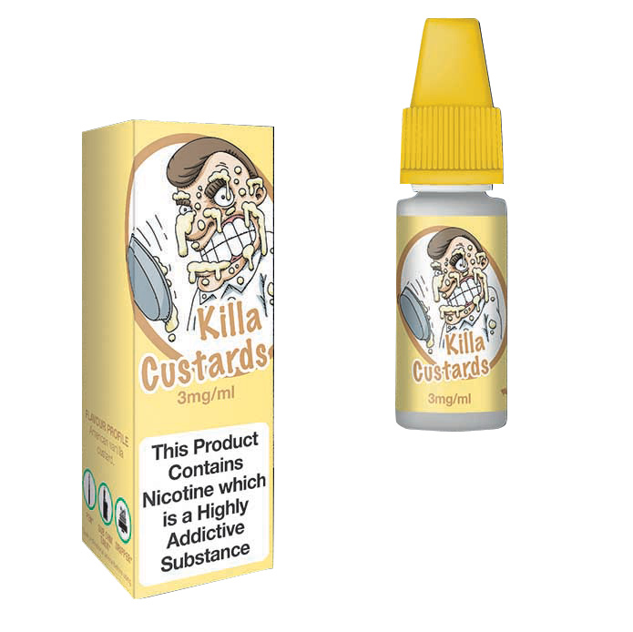 Eco Vape Dripping Killa Custard V2 E-Juice