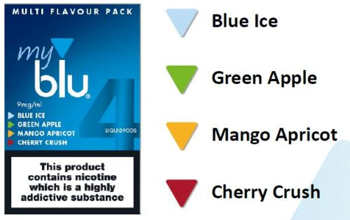 Four Available Flavours