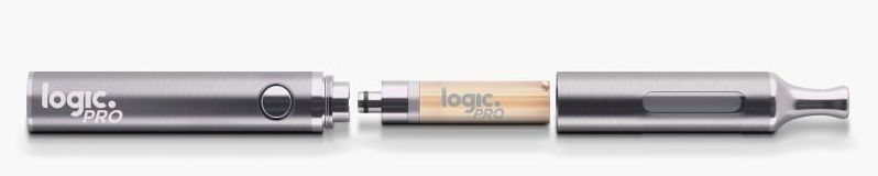 The Logic PRO capsule e-cigarette device