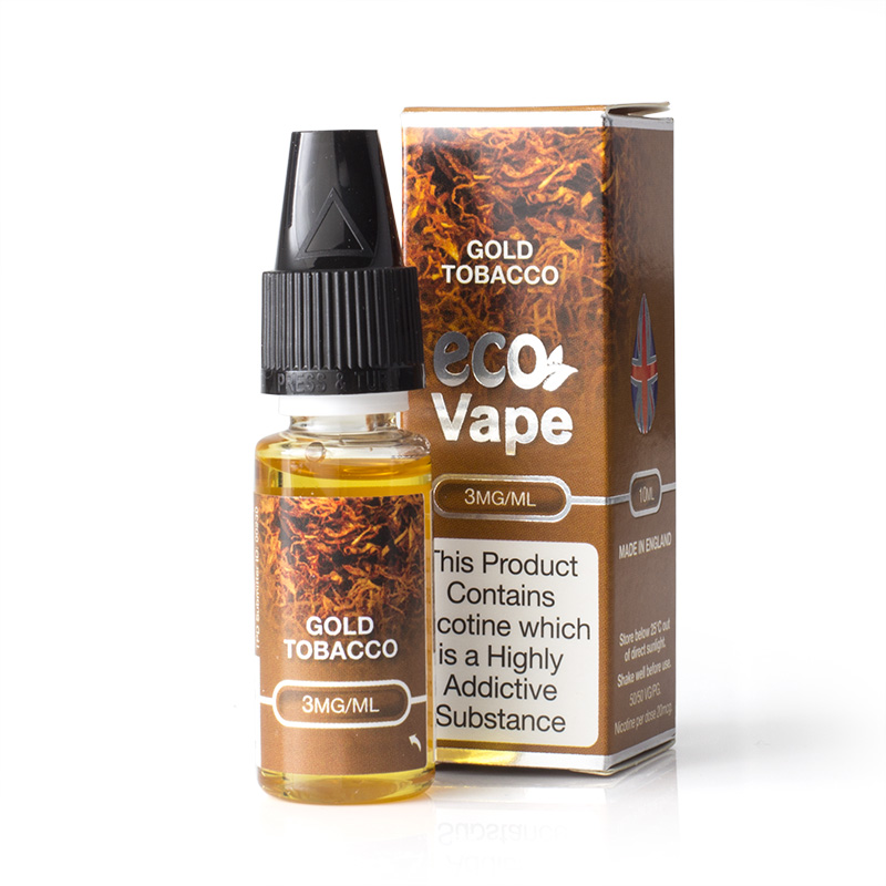 Eco Vape Premium Gold Tobacco V2 E-Juice