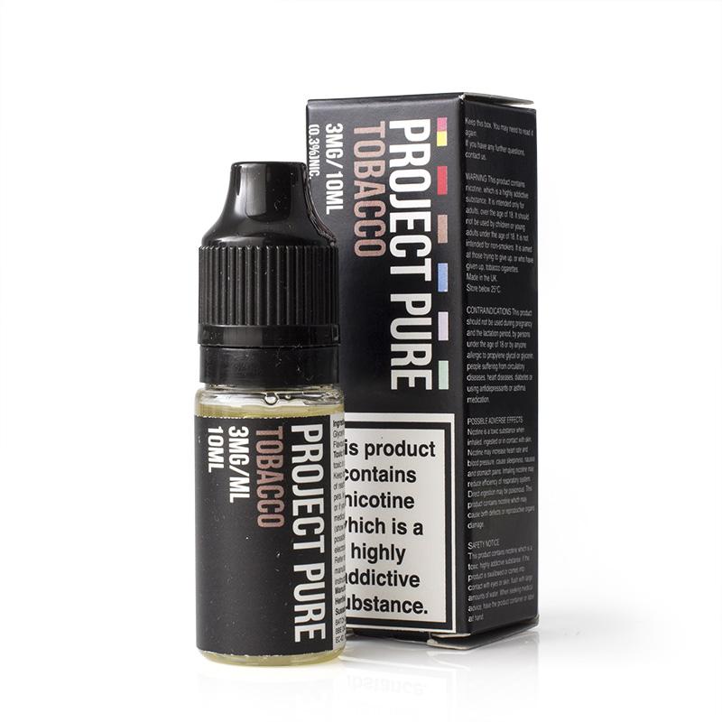 Project Pure Tobacco E-Liquid