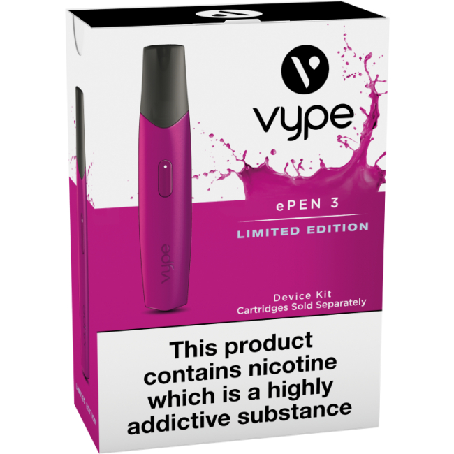 Buy The Vype Pink ePen 3 For Just 99p!