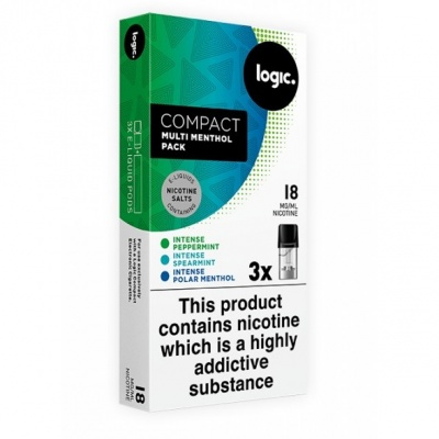 Logic Compact Intense Multi Menthol 18mg E-Liquid Pods