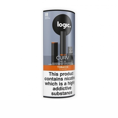 Logic Curv Tobacco E-Cigarette Full Kit