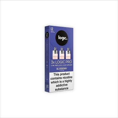 Logic PRO Refill Capsules Blueberry 12mg