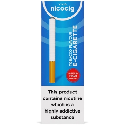 Vivid Nicocig Disposable Tobacco High Electronic Cigarette