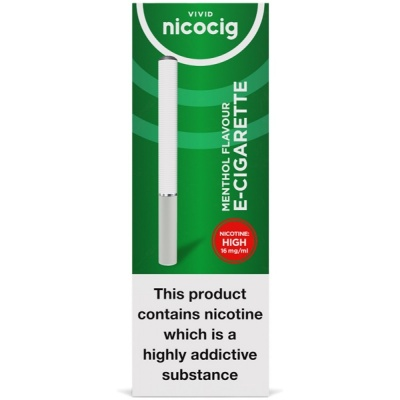 Vivid Nicocig Disposable Menthol High Electronic Cigarette