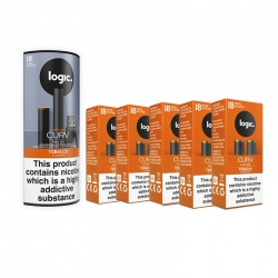Logic Curv Tobacco E-Cigarette Combination Pack