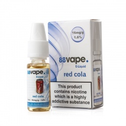 88Vape Red Cola E-Liquid - Money Off!