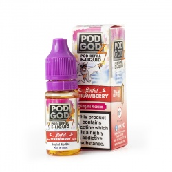 Pod Godz Sinful Strawberry E-Liquid - Money Off!