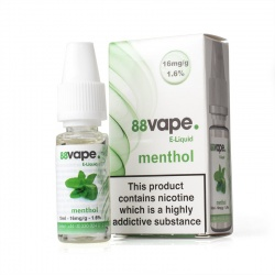88Vape Menthol E-Liquid - Money Off!