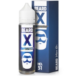 Beard Vape Co X Series No. 51 Short Fill E-Liquid