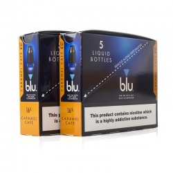Blu Pro Caramel Cafe E-Liquid (100ml)