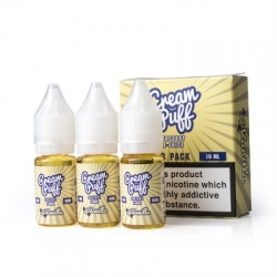 Cream Puff Factory Vanilla Puff E-Liquid - Money Off!