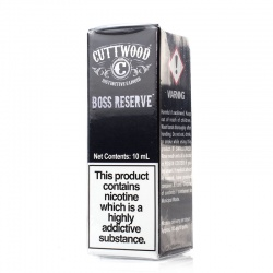 Cuttwood Boss Reserve E-Liquid