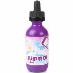 Dinner Lady Summer Holidays Black Orange Crush Short Fill E-Liquid