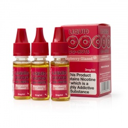 Eco Vape Dripping Raspberry Liquid Do-Nuts V2 High VG E-Juice - Money Off!