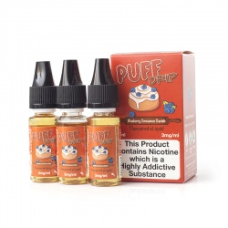Eco Vape Taste of America Puff Drip Blueberry Danish E-Liquid - Money Off!