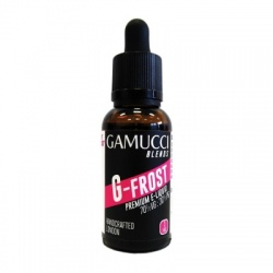 Gamucci Blends G-Frost High VG E-Liquid (0mg) - Half Price!