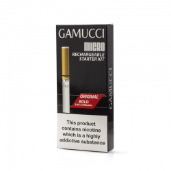 Gamucci E-Cigarette Micro USB Starter Kit - Money Off!