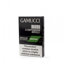 Gamucci Premium Menthol Regular Refill Cartridges