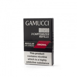 Gamucci Premium Tobacco Regular Refill Cartridges