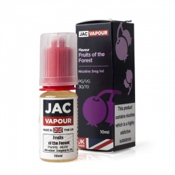 JAC Vapour Fruits of the Forest UK Made VG E-Liquid