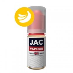 JAC Vapour Banana Milkshake UK Made VG E-Liquid