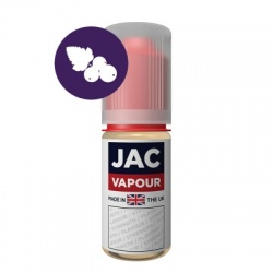 JAC Vapour Blackcurrant Squash UK Made PG E-Liquid