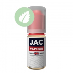 JAC Vapour Pure Menthol UK Made PG E-Liquid - Money Off!