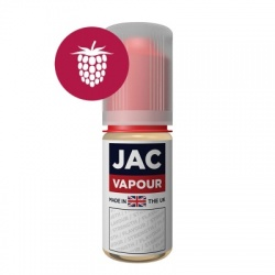 JAC Vapour Real Raspberry UK Made PG E-Liquid
