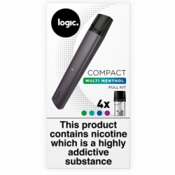 Logic Compact Multi Menthol Intense Starter Kit