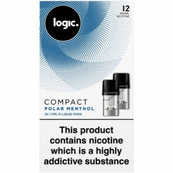 Logic Compact Polar Menthol 12mg E-Liquid Pods