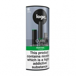 Logic Curv Menthol E-Cigarette Full Kit