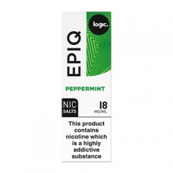 Logic EPIQ Nic Salts Peppermint E-Liquid (18mg)