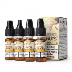 Mega Coffee and Donuts E-Liquid - Money Off!