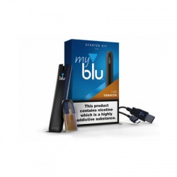 Blu MyBlu Starter Kit with Tobacco Liquidpod