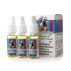 Eco Vape Strawberry Milkshake V2 High VG E-Juice