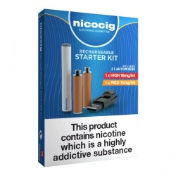 Nicocig Rechargeable Electronic Cigarette Starter Kit