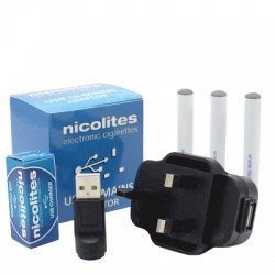 Nicolites Deluxe Charging Kit with Cartomisers