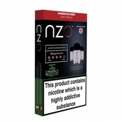 NZO Vape Decadent American Red Refill Pack (18mg)