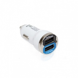 OK Vape E-Cigarette 2-Port Car USB Charger